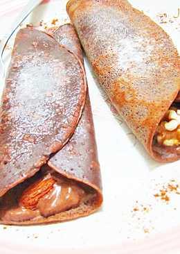 堅果巧克力可麗餅