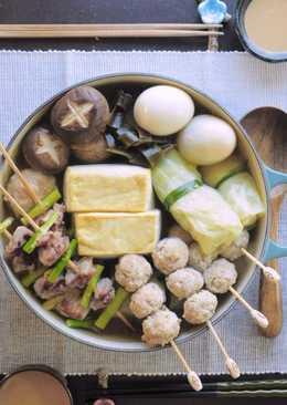 日式關東煮:高湯與自製火鍋料