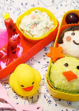 ♡宛の可愛おべんと ✿ 和黃色小鴨去野餐