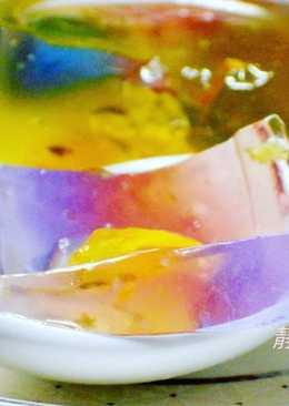 蝶豆蒟蒻果凍