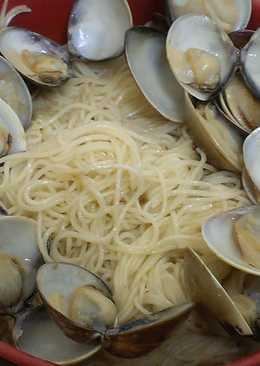 麻油蛤蜊麵線