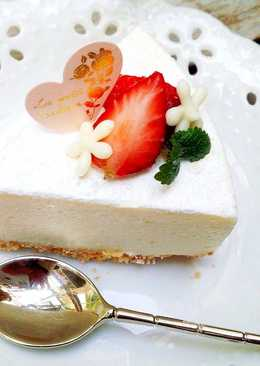 白巧克力乳酪免烤蛋糕