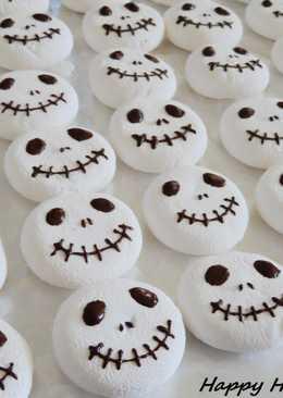 Halloween萬聖節-傑克棉花糖