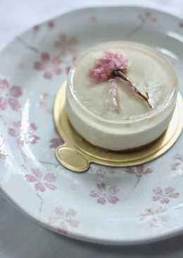 櫻花豆腐芝士蛋糕