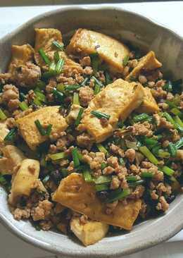 韮菜花燒豆腐