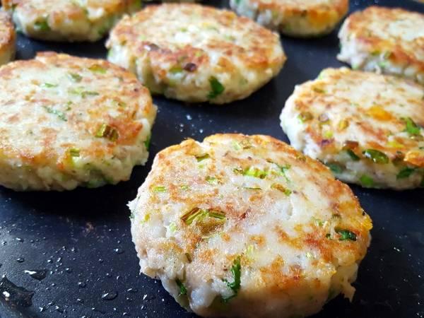 馬鈴薯鮪魚堡 家常版