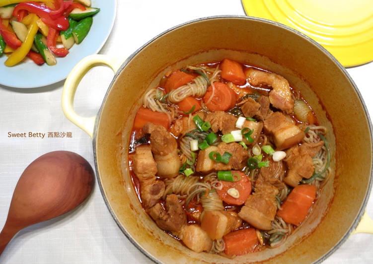 韓式辣醬蒟蒻燉肉