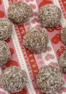 【免烤箱】四種食材做巧克力雪球