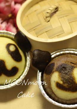 【熊貓/小熊蒸蛋糕】