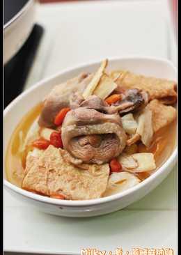 料理- 藥膳麻油雞