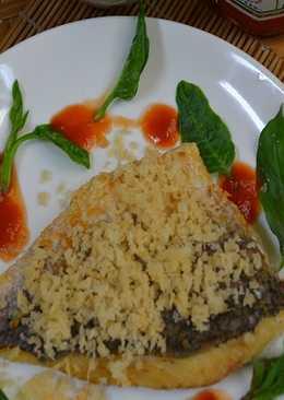 [亨氏番茄醬]乾煎鱸魚片佐檸香番茄醬