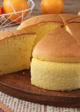 香橙海綿蛋糕