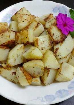 香料薯塊(素食)