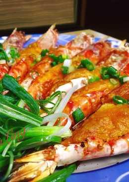 烤蒜茸起司蝦