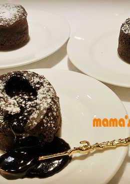 【熔岩巧克力蛋糕】