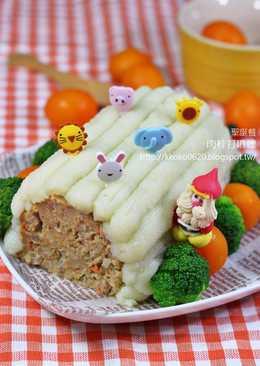 聖誕節樹幹肉餅蛋糕