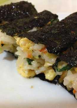 102-10-09早餐-海苔包飯