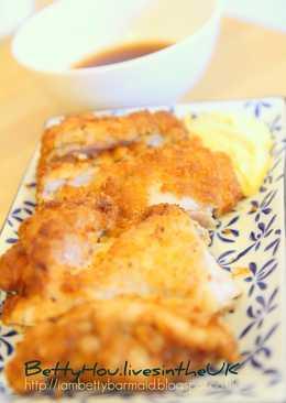 日式炸雞腿+2種超好吃醬