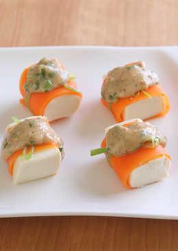 紅蘿蔔豆腐
