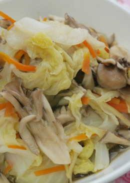 舞菇燒白菜