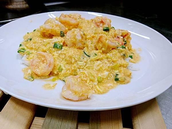 滑蛋鮮蝦燴飯