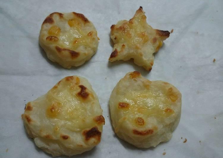 【北海道白醬烤】焗烤玉米馬鈴薯餅