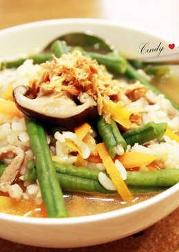 長豇豆鹹粥