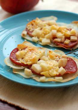 西洋梨火腿起司焗烤馬鈴薯