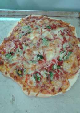 [亨氏番茄醬]diy的手工披薩