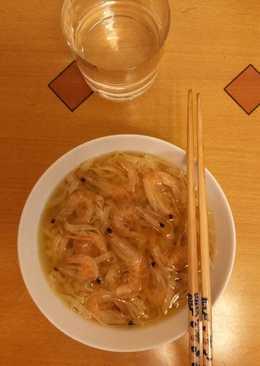 蝦乾蝦子麵