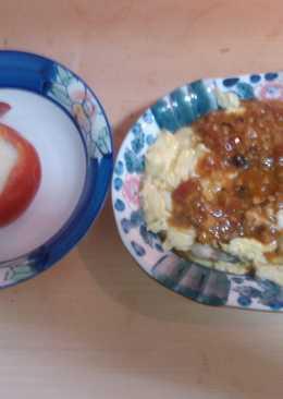 [菇菇巧思] 雪白番茄湯 醬菇蚵仔煎