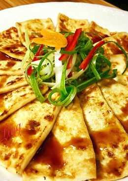 香煎薄脆豆腐