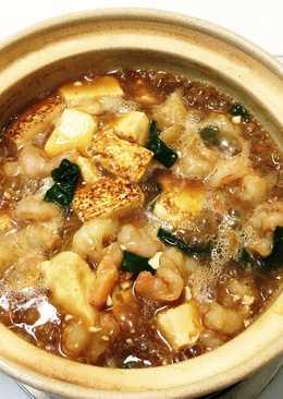 蝦仁豆腐煲