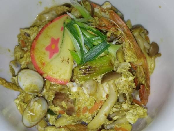 咖喱海鮮丼飯