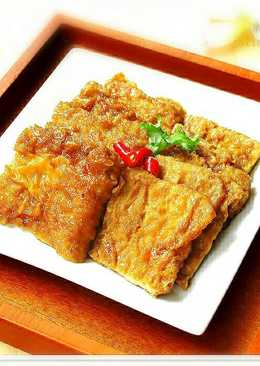[八角燒油豆腐皮]快速便當菜