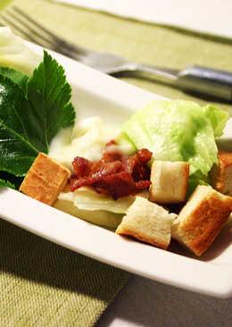【厚生廚房】鮮蔬培根沙拉