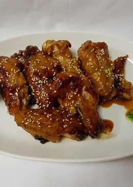 芝麻醬燒雞翅