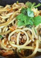 用水波爐做日式炒麵-簡單又好吃