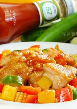 [亨氏番茄醬]茄汁健康雞