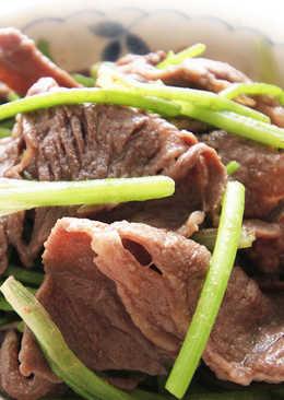 【厚生廚房】芫爆牛肉