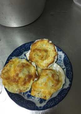 焗烤奶油扇貝