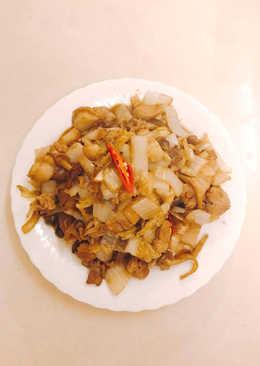 酸菜炒豬肉