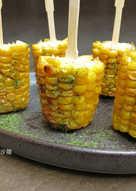 奶油蒜味烤玉米