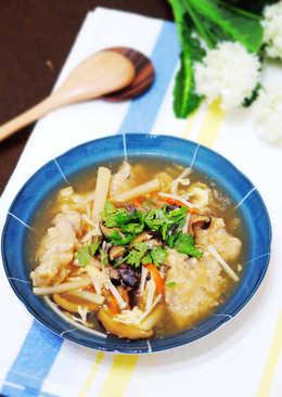 淬釀傳統好滋味~香菇赤肉羹
