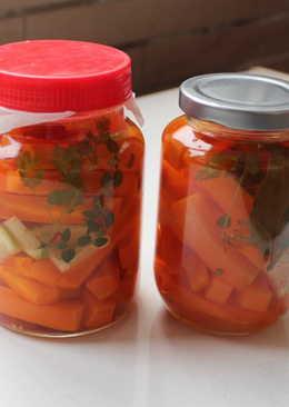 日式醋醃胡蘿蔔