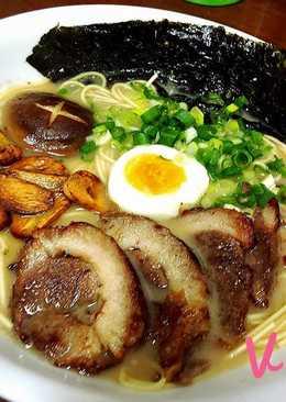日式叉燒蒜香拉麵