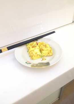 間單方便的虎皮蛋餅