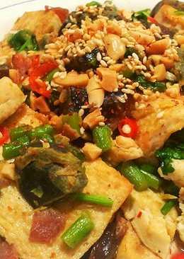 皮蛋燒豆腐