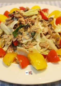 海底雞延伸料理-海底雞泰式涼拌