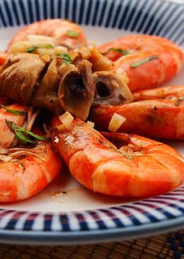 奶油蒜味鮮蝦